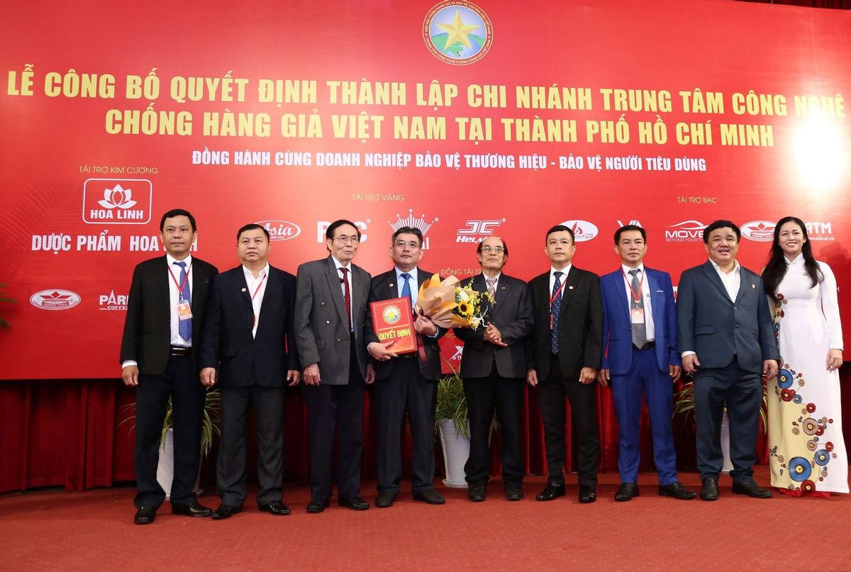 Thành lập Chi Nhánh Trung Tâm Công Nghệ Chống Hàng Giả Việt Nam Tại TP-HCM